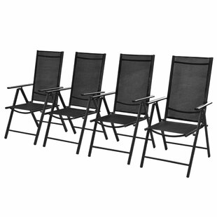 Folding Recliner Chairs (Set Of 4) By Sol 72 Outdoor