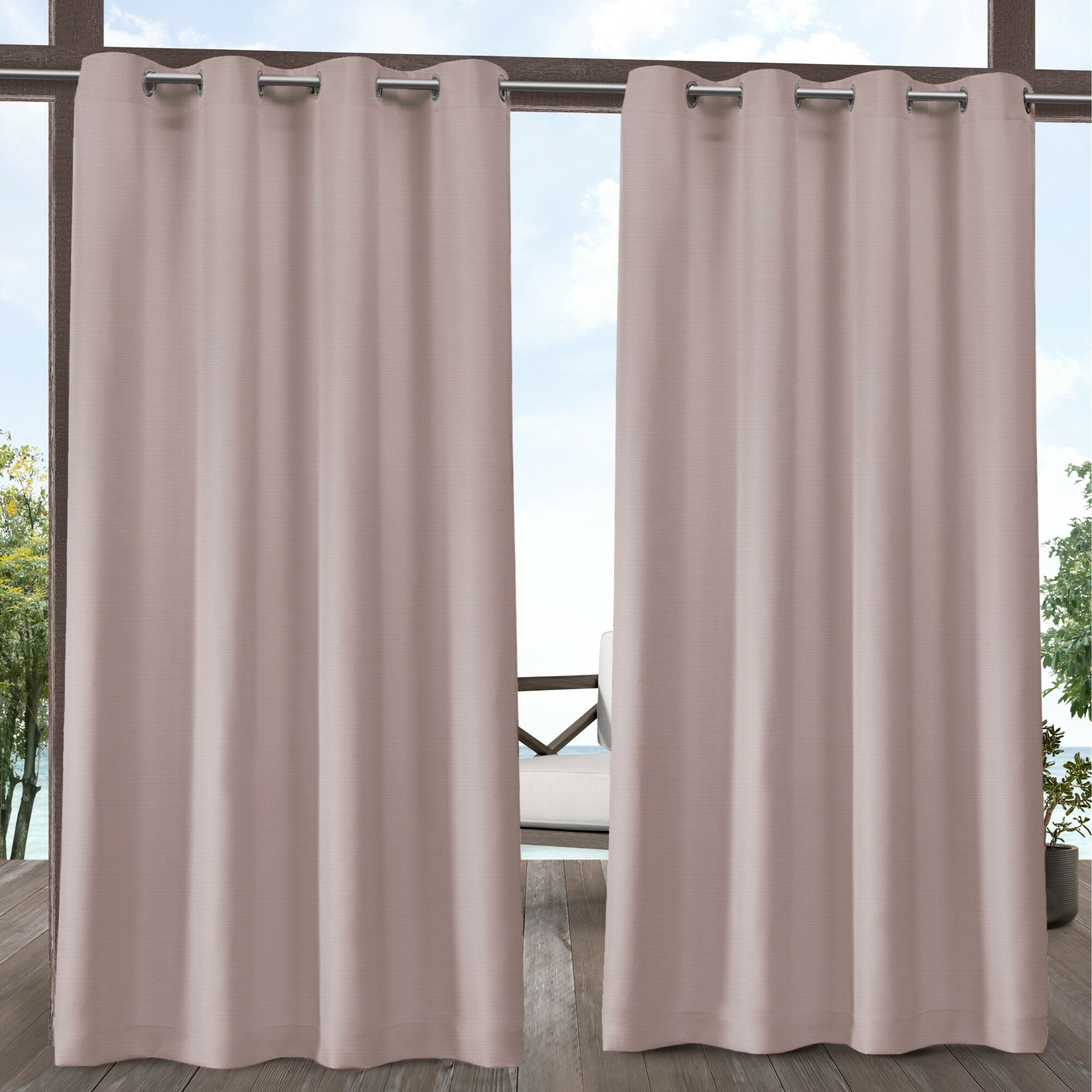Outdoor Sheer Curtains Drapes Free Shipping Over 35 Wayfair