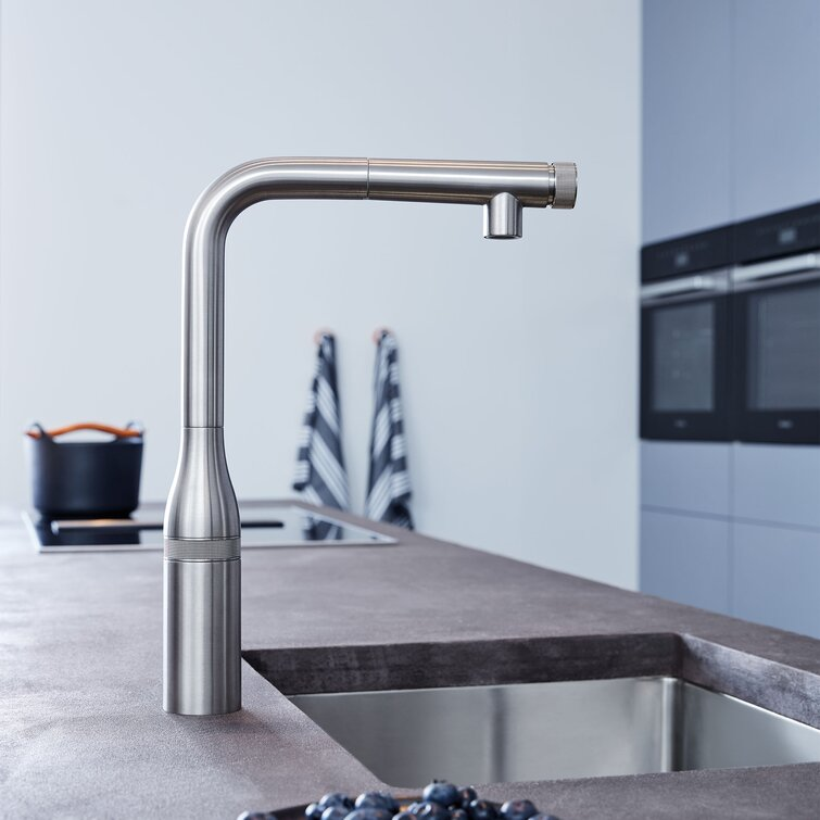 Grohe Essence Smartcontrol Pull Out Touch Bar Faucet Reviews Wayfair