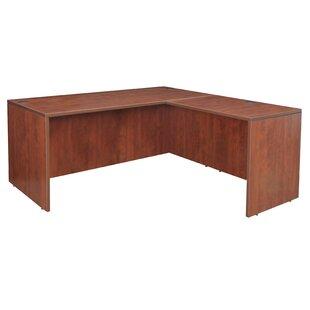 Latitude Run Linh Shell L-Shape Corner Desk