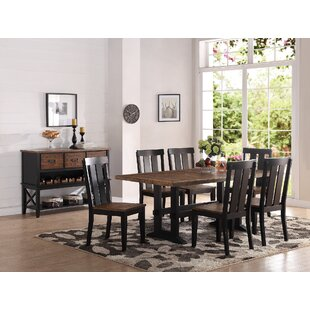 Goodman 7 Piece Dining Set by Gracie Oaks Savings