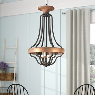 Elisabetta 3-Light Empire Chandelier by Laurel Foundry Modern Farmhouse