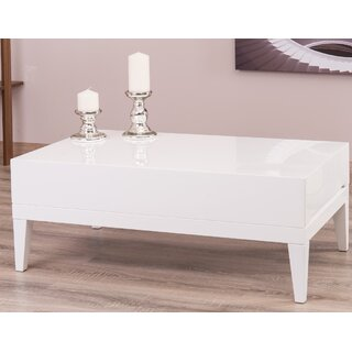 Ariah Lacquer Modern Coffee Table with Storage by Corrigan Studio SKU:BC989152 Details