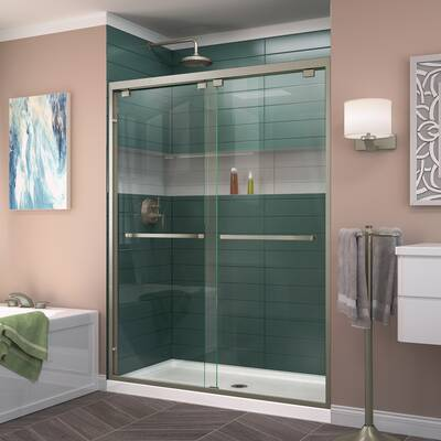 Encore 60 X 76 Byp Semi Frameless Shower Door With Clearmax Technology