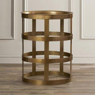 Romano End Table by Willa Arlo Interiors