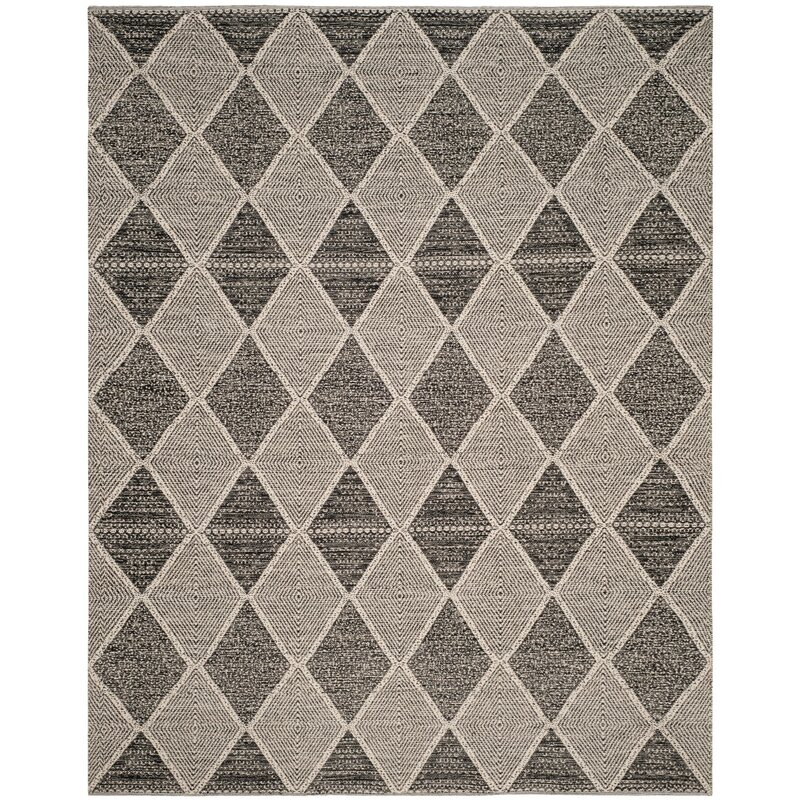 Oxbow Handwoven Cotton Black White Area Rug Amp Reviews