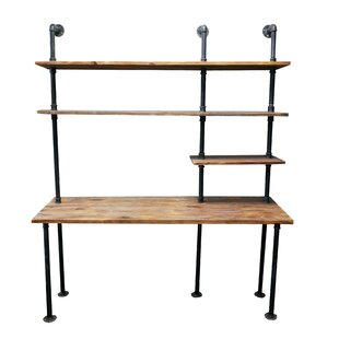 Song Solid Wood Leaning/Ladder Desk by Trent Austin Design
