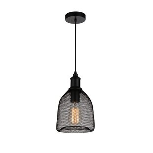 CWI Lighting Drea 1-Light Bell Pendant
