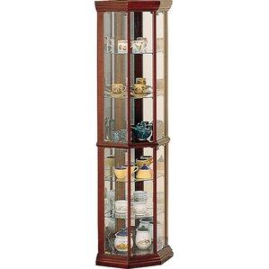 Benton City Corner Curio Cabinet by Wildo..