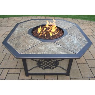 Oakland Living Aluminum Propane Fire Pit Table