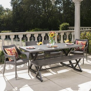 Rosecliff Heights Laurus 6 Piece Dining Set