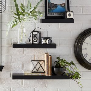 Bathroom Wall Shelves bathroom wall shelves | wayfair