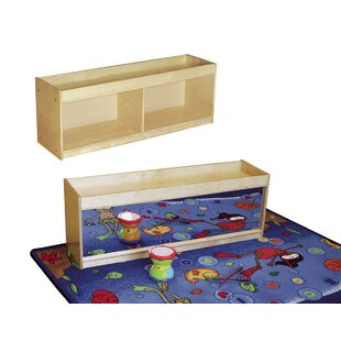 Reviews Daycare Toddler Ledge Portable 2 Compartment Cubby ByKids' Station