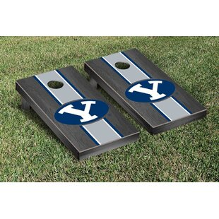 Victory Tailgate NCAA Stained Stripe Version 2 Cornhole Game Set