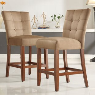 Doerr 24 Bar Stool (Set of 2) by Charlton Home