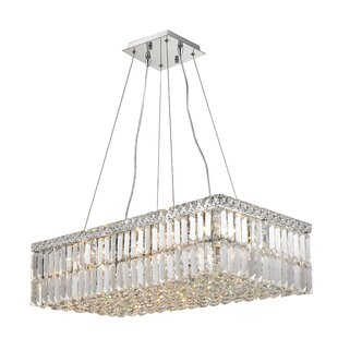 Everly Quinn Boshears 1 Tier 16-Light Chandelier
