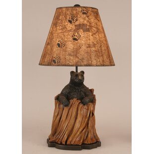 Coast Lamp Mfg. Rustic Living Bear in Stump 26