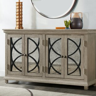 Millbank Four Door Mirror Front Sideboard Alcott Hill