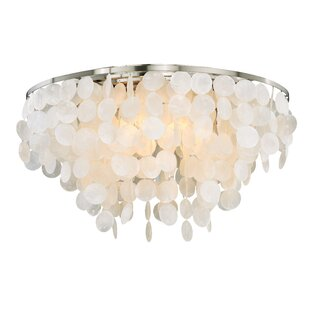 Beachcrest Home Kym Flush Mount
