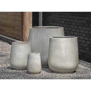 Campania International 4 Piece Pot Planter Set