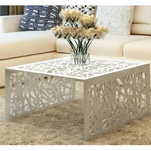 Eleanor Geometric Openwork Coffee Table