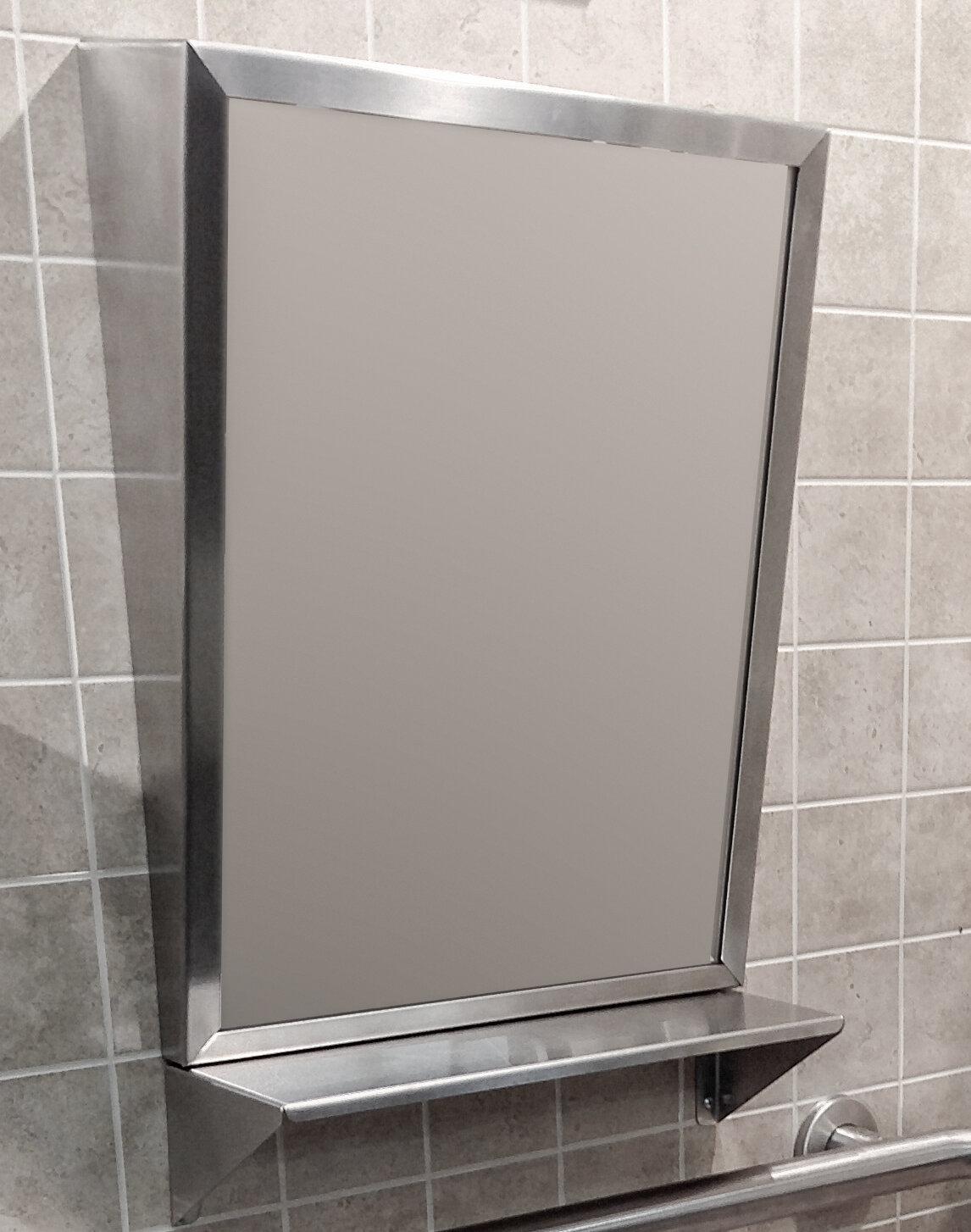 Brey Krause Ada Modern Contemporary Bathroom Vanity Mirror