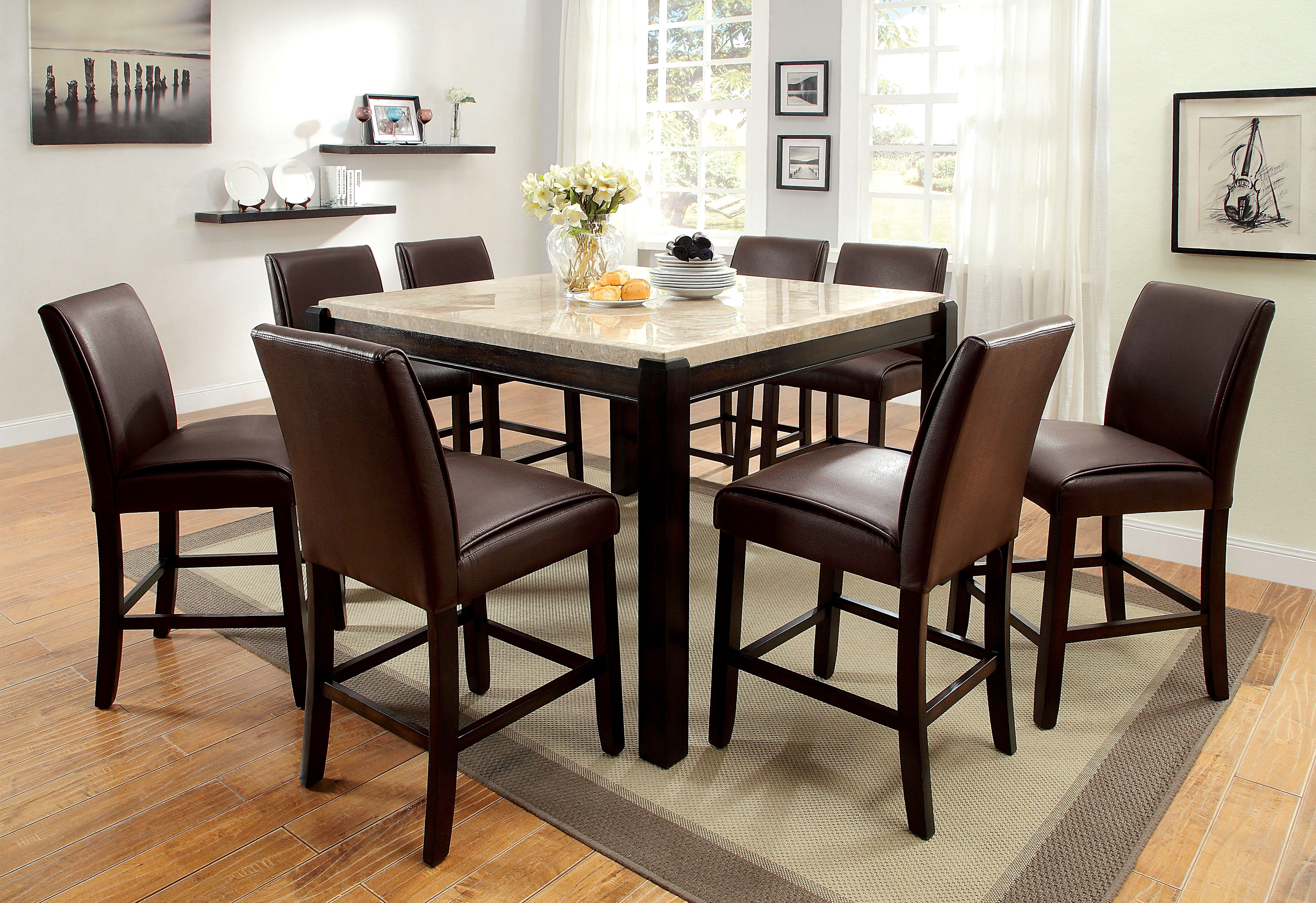 Superieur Hokku Designs Dornan 9 Piece Pub Table Set | Wayfair