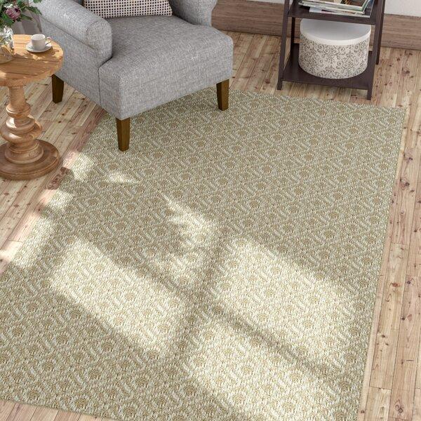 Gracie Oaks Palmyre Geometric Sisal Linen Area Rug Reviews Wayfair