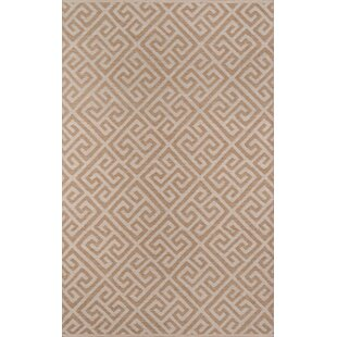 Norbert Handwoven Flatweave Brown Indoor/Outdoor Area Rug