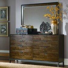 Kolton 8 Drawer Dresser with Mirror by Latitude Run