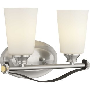 Alidade 2-Light Vanity Light by Wrought Studio
