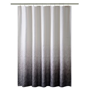 Lace Printed Ombre Single Shower Curtain