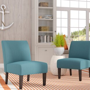 Veranda Slipper Chair (Set of 2) by Highland Dunes