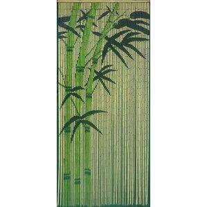 bogwood bamboo single curtain panel