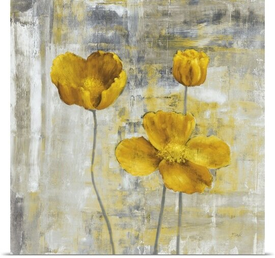 Great Big Canvas Yellow Flowers Ii By Carol Black