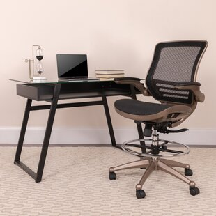 Mignone Ergonomic Mesh Drafting Chair by Ebern Designs #1