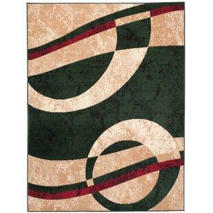 Wren Green Rug by Longweave