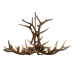 Foundry Select Bowhill 8-Light Candle-Style Chandelier