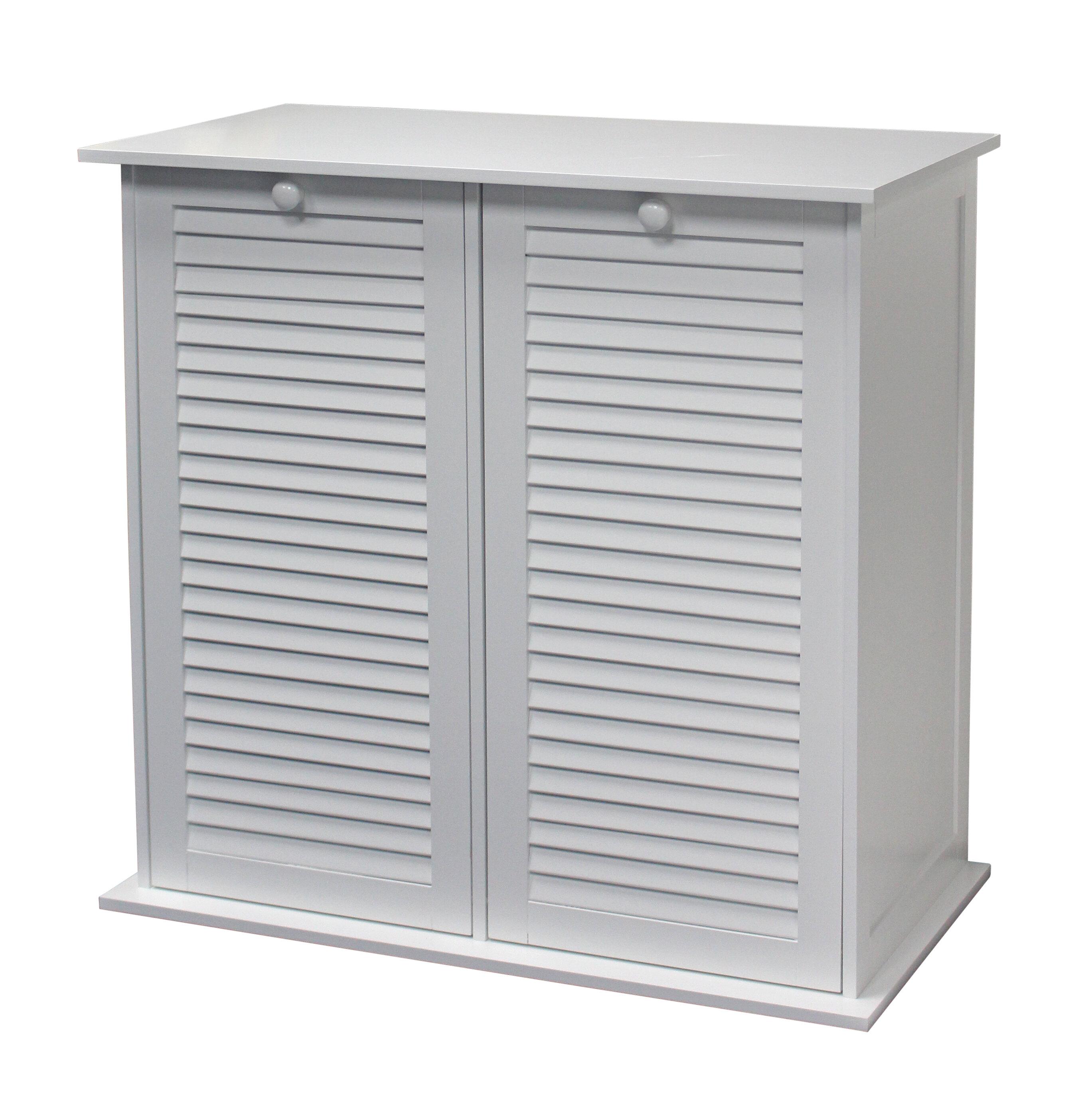 Ehemco Linen Dual Cabinet Laundry