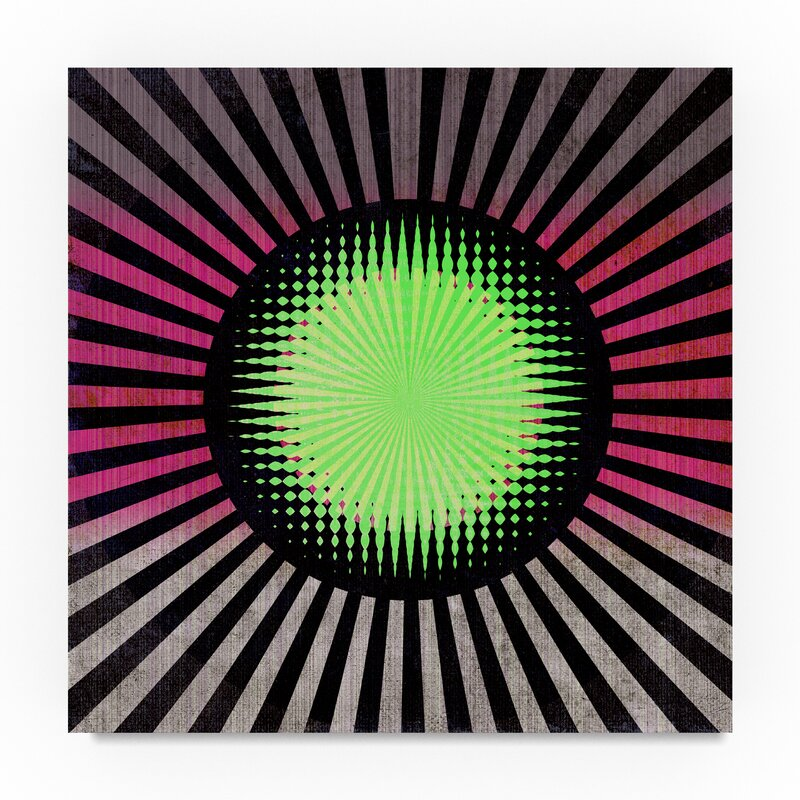 Trademark Art Neon Graphic Art Print On Wrapped Canvas Wayfair