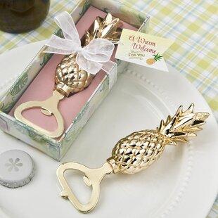 6356eef1085d79 Dreshertown Pineapple Theme Bottle Opener Favour (Set of 12)