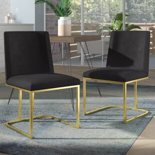 Leslie Seppich Upholstered Dining Chair (Set of 2)