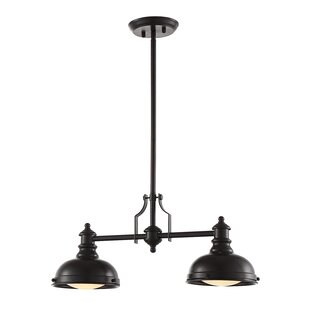 Bergin II 2-Light Kitchen Island Pendant