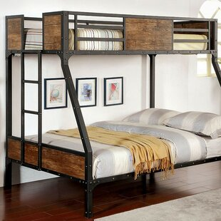 Fresno Twin over Full Bunk Bed by Harriet Bee