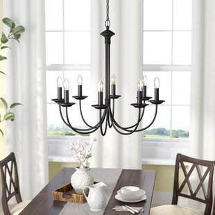 Shaylee 8 Light Candle Style Clic Traditional Chandelier