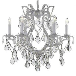 Rosdorf Park Lazaro 6-Light Candle Style ..