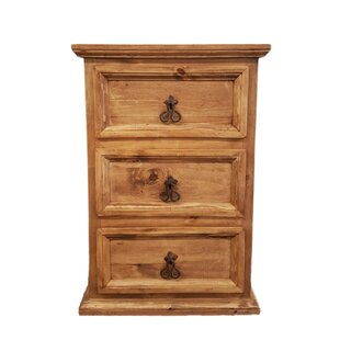 Fresnel 3 Drawer Nightstand by Millwood Pines Wonderful