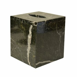 Astoria Grand Polished Marble Auerbach Tissue Box Cover