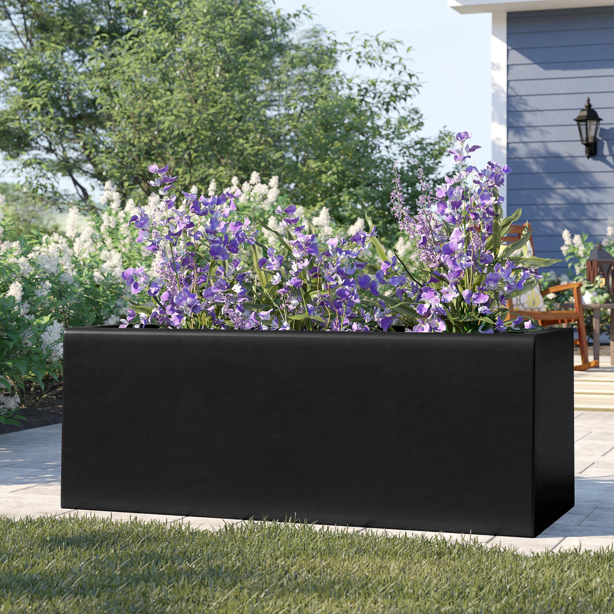 Barclay Rectangle Fiberglass Planter Box