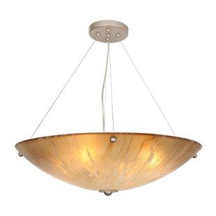 Orren Ellis Rafael 4-Light Bowl Pendant